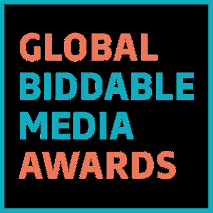 Global Biddable Media Awards logo